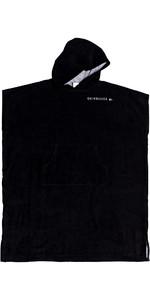 2020 Quiksilver Hoody Towel Change Robe EQYAA03884 - Black