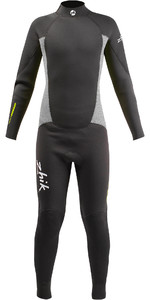 2020 Zhik Junior 3/2mm Back Zip GBS Wetsuit STM0200 - Anthracite