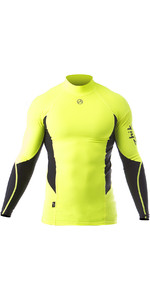 2020 Zhik Mens Long Sleeve Spandex Rash Top TOP61 - Hi Vis
