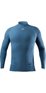 2020 Zhik Mens XWR Pro Water Repellent Rash Vest DTP0093 Deep Blue
