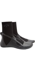 2021 Billabong Absolute 3mm Split Toe Wetsuit Boot Z4BT19 - Black Hash