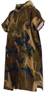 2020 Billabong Changing Robe / Poncho U4BR10 - Military