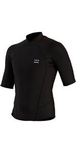 2021 Billabong Mens Absolute 2mm Short Sleeve Wetsuit Top W42M67 - Black