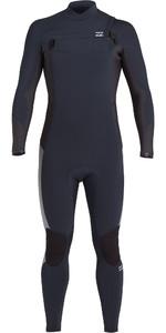 2021 Billabong Mens Absolute 3/2mm Chest Zip GBS Wetsuit U43M56 - Navy