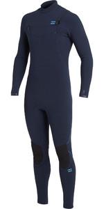 2021 Billabong Mens Furnace Comp 3/2mm Chest Zip Wetsuit U43M52 - Navy