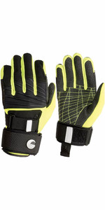 2021 Connelly Claw 3.0 Pre-curved Kevlar Fabric Gloves 67176003 - Black / Yellow