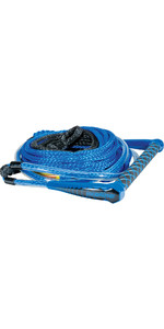 2021 Connelly Easy-Up Waterski 75ft Rope & Handle w /  1 Section 82190002- Blue