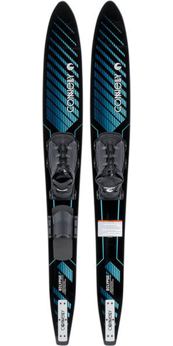 2021 Connelly Eclypse Front Adjustable Combo Waterskis 61200303 - Blue