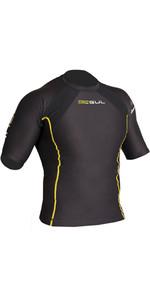 2021 Gul Mens Evotherm Thermal Short Sleeve FL Wetsuit Top EV0051-B9 Black