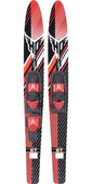 2021 HO Sports Blast Combos Waterskis H19BL - Red