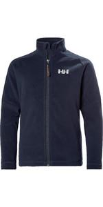 2021 Helly Hansen Junior Daybreaker 2.0 Fleece Jacket 41661 - Navy