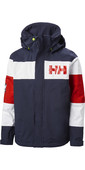 2021 Helly Hansen Junior Salt Port Jacket 41634 - Navy