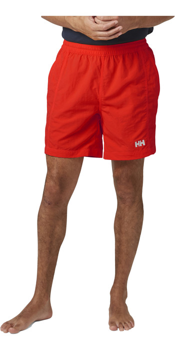 2021 Helly Hansen Mens Calshot Trunk 55693 - Alert Red