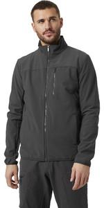 2021 Helly Hansen Mens Crew Softshell Jacket 2.0 30223 - Ebony