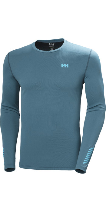 2021 Helly Hansen Mens Lifa Active Solen Long Sleeve Top 49348 - North Teal