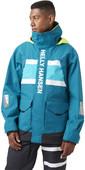 2021 Helly Hansen Mens Salt Coastal Jacket 30221 - Teal