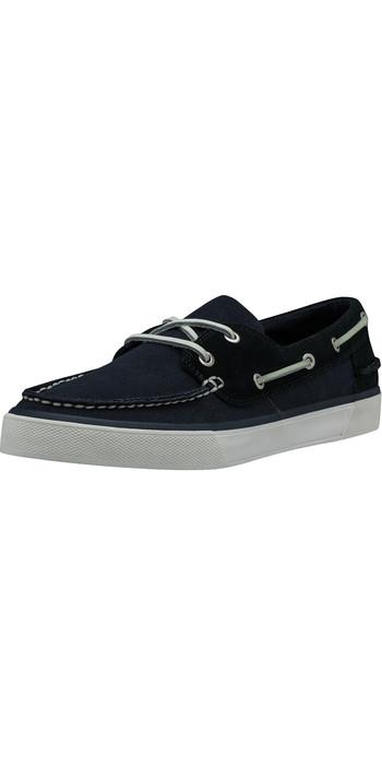 2021 Helly Hansen Sandhaven Deck Shoe 11469 - Navy / Off White / Alert Red