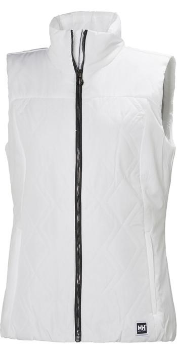 2021 Helly Hansen Womens Crew Insulator Vest 34072 - White