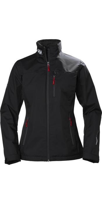 2021 Helly Hansen Womens Crew Jacket 30297 - Black