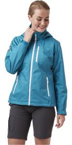 2021 Helly Hansen Womens Crew Hooded Jacket 33899 - Teal