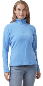 2021 Helly Hansen Womens Daybreaker 1/2 Zip Fleece 50845 - Skagen Blue