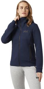2021 Helly Hansen Womens HP Ocean Sweat Jacket 30243 - Navy Melange