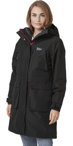 2021 Helly Hansen Womens Rigging Coat 53512 - Black