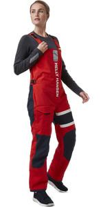 2021 Helly Hansen Womens Salt Coastal Bib 30345 - Alert Red