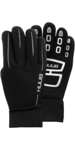 2021 Huub 3mm Wetsuit Swim Gloves A2-SG19 - Black / Silver