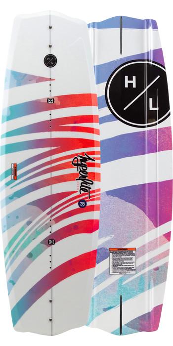 2021 Hyperlite Eden Wakeboard H20ED - White