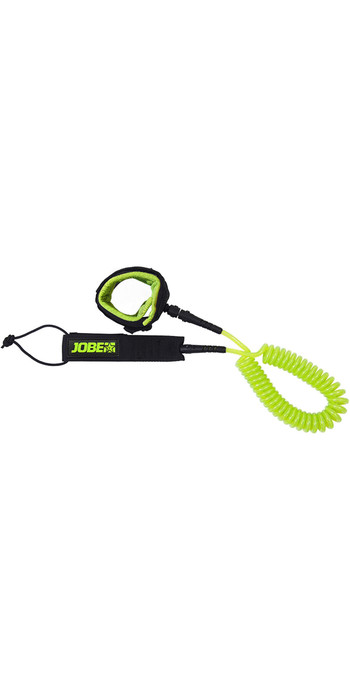 2021 Jobe SUP Coiled Leash 10ft 489921002 - Lime