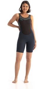 2021 Jobe Womens Sofia 1.5mm Sleeveless Shorty Wetsuit 303621011 - Graphite / Grey