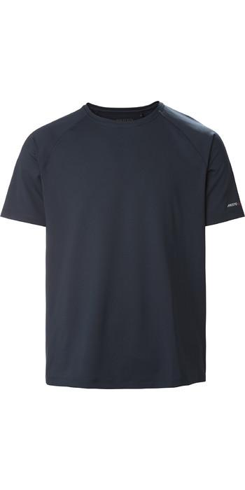 2021 Musto Mens Evo Sunblock Short Sleeve Tee 2.0 81154 - True Navy 81154