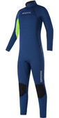 2021 Mystic Junior Star 5/4mm Back Zip Wetsuit 35000.220040 - Night Blue