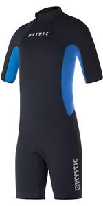 2021 Mystic Kids Star 3/2mm Back Zip Shorty Wetsuit 35000.220045 - Black