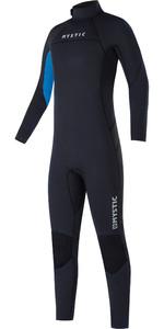 2021 Mystic Kids Star 5/4mm Back Zip Wetsuit 35000.220043 - Black