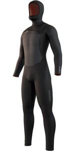 2021 Mystic Mens Voltt 6/4/3mm Hooded Chest Zip Wetsuit 35000.220000 - Black