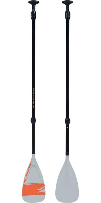 2021 Naish Sport Plus Vario 3-Piece SUP Paddle 16182 - White