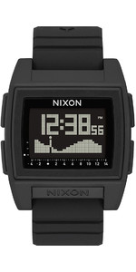 2021 Nixon Base Tide Pro Surf Watch 000-00 - Black
