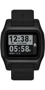 2021 Nixon High Tide Surf Watch 001-00 - All Black