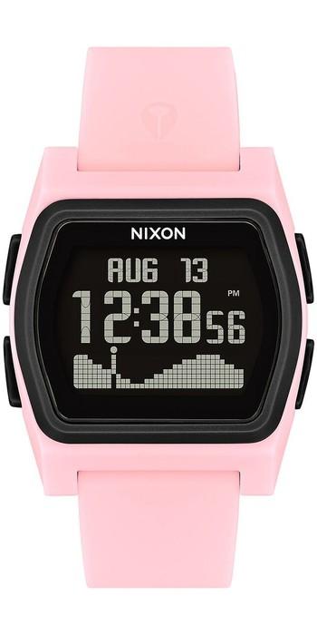 2021 Nixon Rival Surf Watch 2531-00 - Pink / Black