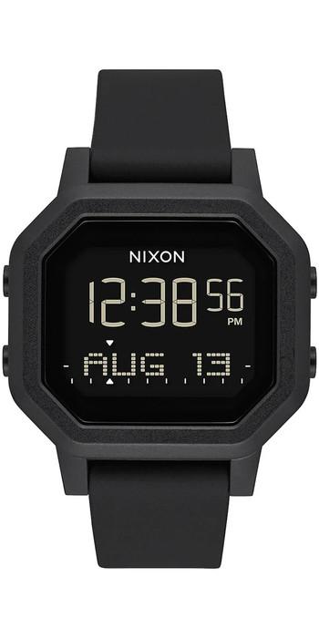 2021 Nixon Siren Surf Watch 100-00 - All Black