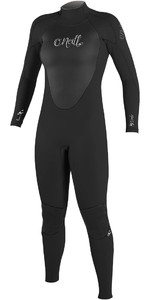 2021 O'Neill Womens Epic 4/3mm Back Zip GBS Wetsuit 4214 - Black