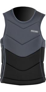 2021 Prolimit Mens Fusion Slider Full Padded Impact Vest 63033 - Black / Grey
