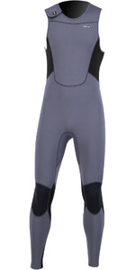 2021 Prolimit Mens Zodiac Velcro Closure 1.5mm SUP Long John Wetsuit 14460 - Grey / Black