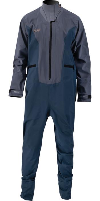 2021 Prolimit Mens Nordic SUP Front Zip Drysuit 10065 - Steel Blue / Indigo