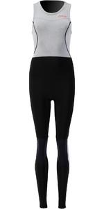 2021 Prolimit Womens Airmax 1.5mm Zodiac SUP Long John Wetsuit 14720 - Black / Light Grey