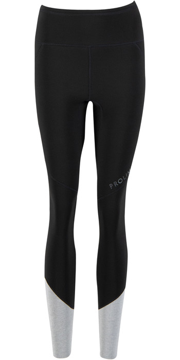 2021 Prolimit Womens Airmax 1.5mm Wetsuit SUP Trousers 14740 - Black / Light Grey