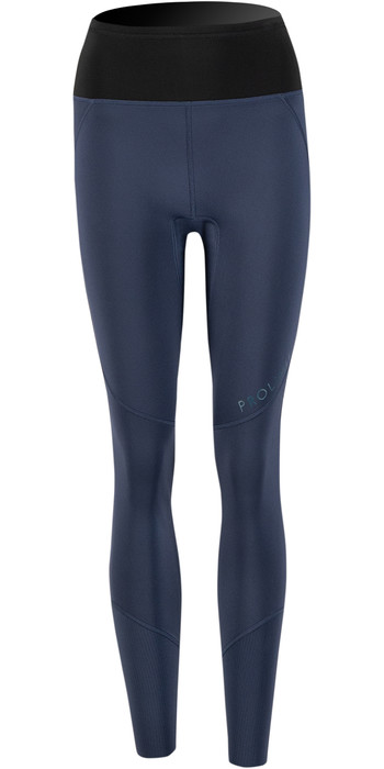 2021 Prolimit Womens Airmax 2mm Wetsuit SUP Trousers 14730 - Black / Slate