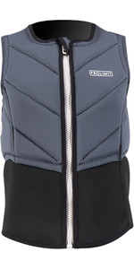 2021 Prolimit Womens Fire Half Padded Impact Vest 63091 - Black / Ash / Ivory